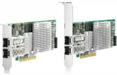HP NC522SFP Dual Port 10Gigabit Ethernet Server Adapter - PCI Express - 2 x RJ-45 - 10GBase-T - WEEE Compliance